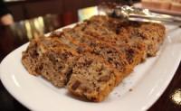 玄米粉と全粒粉のチョコバナナケーキ