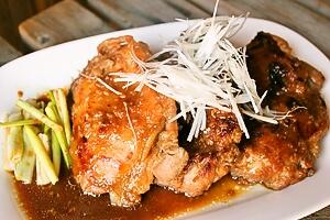 しょうゆ麹の鶏の照り焼き