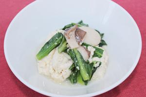 塩糀の炒り豆腐