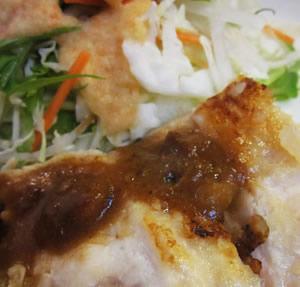 鶏胸肉の塩麹ソテー